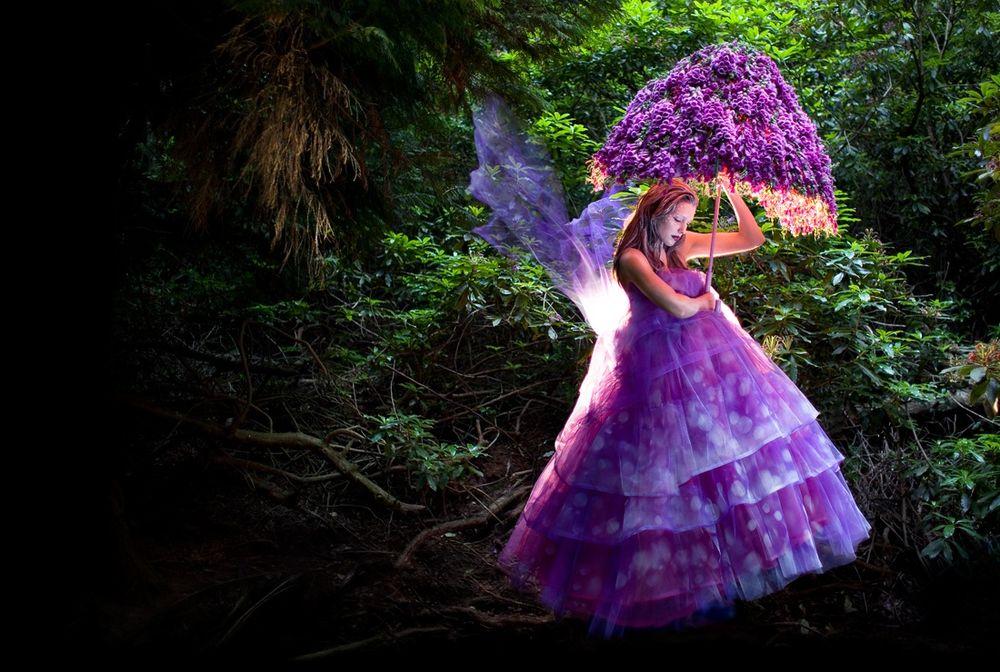 самые красивые сказочные фотоработы показывает как она