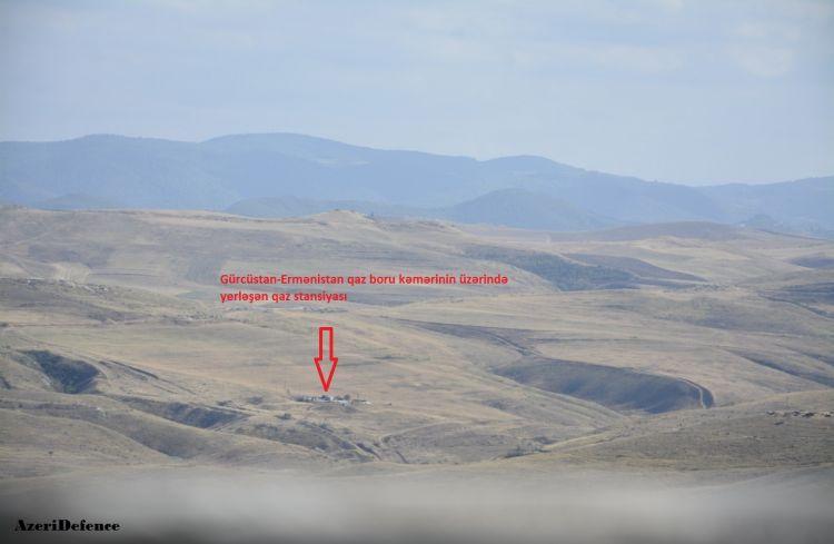 Sərhədçilərimiz Ermənistana gedən qaz kəmərini nəzarətə götürdü + FOTO