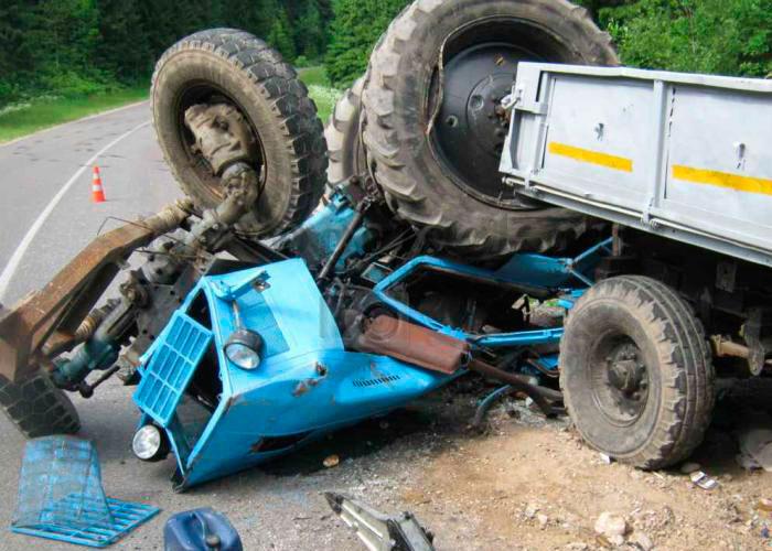 Beyləqanda traktor aşıb - 1 ölü