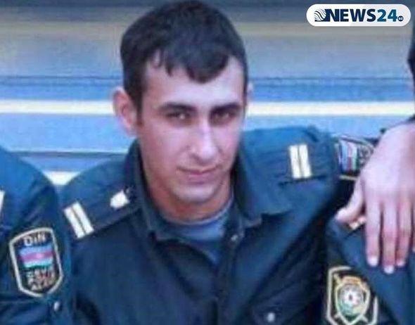 Azərbaycanda polis özünü öldürdü - FOTO