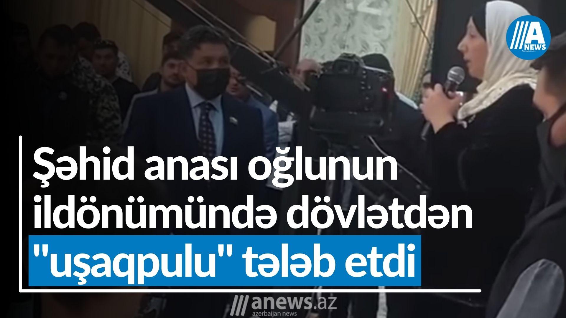 """Şəhid anası: """"Dövlət vaxtında mənə dəstək olmadı, qalanlara dəstək olsun"""" - VİDEO"""