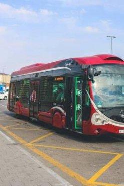 Yeni avtobuslar fəaliyyətə başladı