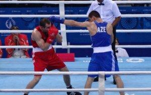 Азербайджанский боксер в финале