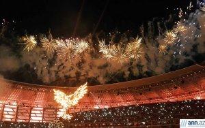 Церемония закрытие Евроигр в Баку – ФОТОРЕПОТАЖ