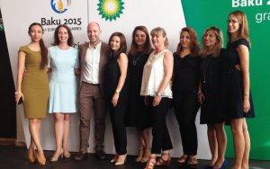 Baku 2015, BP celebrate Games Academy graduation