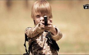 The blond boy executioner
