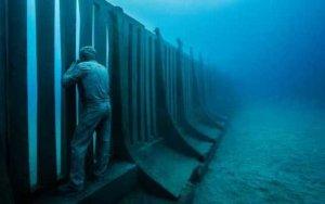Появился музей подводных скульптур - ВИДЕО