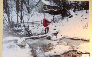 Дед Мороз в горных селах