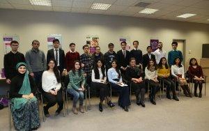 Azercell CEO meets Student Bursary Program winners