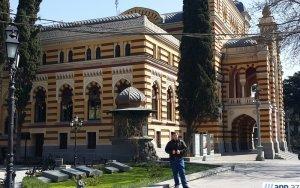 Грузинский театр оперы и балета – ФОТОРЕПОРТАЖ