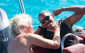 Обама на заслуженном отдыхе - ФОТО+ВИДЕО