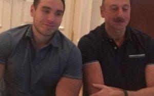 Племянник Ильхама Алиева поднял 170 килограммов - ВИДЕО