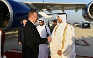 Президент отправился в Катар -  ФОТО