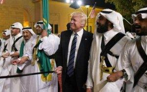 Трамп  станцевал «танец с саблями» - ВИДЕО