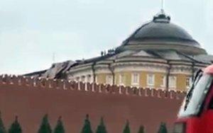 Ураган зацепил Кремль - ВИДЕО