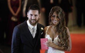 Месси женился в родном городе в Аргентине - ВИДЕО