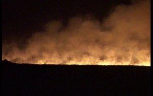 Армяне устроили пожар на оккупированных территориях Азербайджан