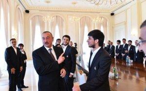 Ильхам Алиев пошутил над Афраном Исмаиловым