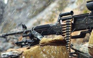Армяне стреляют из минометов