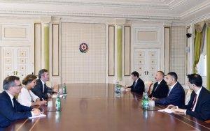 Ильхам Алиев принял Жана-Батиста Лемуана