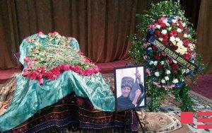 Ашуга Адалята похоронили в Газахе