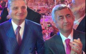 Sarkisyanın iştirak etdiyi toyda Azərbaycan mahnısı - VİDEO