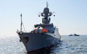 Российские корабли прибыли в Баку