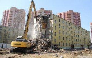 Bakının 7 rayonunda köhnə binalar sökülür