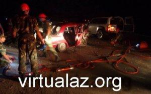 Тяжелое ДТП в Сальяне: много погибших и раненых