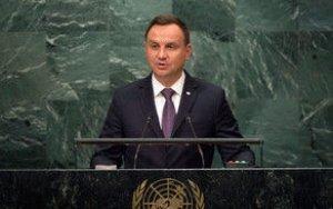 Дуда: Россия нарушает фундаментальные принципы ООН в Грузии и Украине