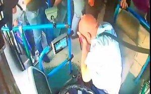 Задержан хулиган, избивший водителя автобуса