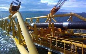 В Турции началось строительство морского участка газопровода TANAP