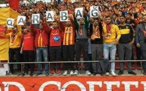 Фанаты «Галатасарая» поддержали «Карабах»