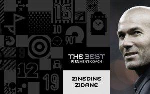 Зидан - лучший тренер года по версии ФИФА