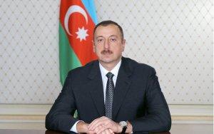 Президент на юбилее партии «Ени Азербайджан»