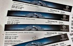 Закончились билеты на матч «Карабах» - «Челси»