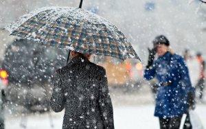 Завтра в Баку выпадет мокрый снег