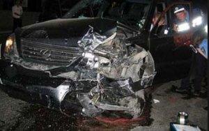 В Азербайджане перевернулся автомобиль с арабами
