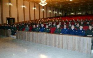 Минобороны проводит сборы командиров в Нахчыване