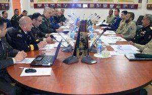 Пакистанский генерал на переговорах в Баку