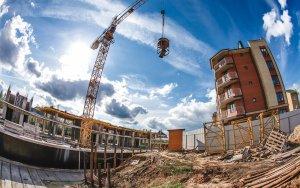 Гражданами построено 93% частных домов в 17г