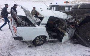 В Армении произошло крупное ДТП  есть погибшие