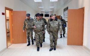 Фуад Алескеров и Закир Гасанов на линии фронта - ФОТО