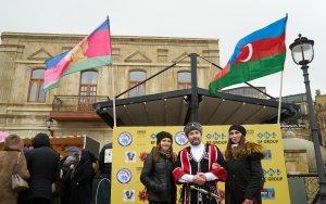 В Баку отпраздновали Масленицу - ФОТО