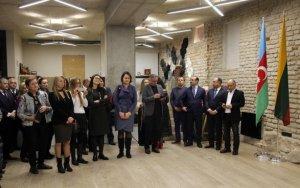 В Вильнюсе показали азербайджанское народное творчество - ФОТО