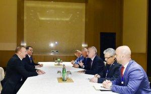 Президент провел встречу с албанским коллегой