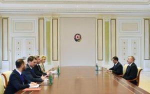 Президент встретился с македонским коллегой