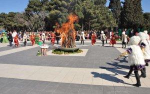 В Баку репетиция посвященного Новрузу мероприятия