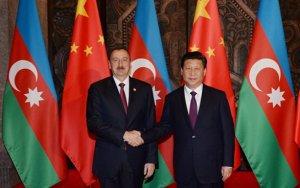 Ильхам Алиев поздравил Си Цзиньпина