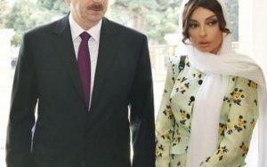Prezident və xanımı Hacı Cavad məscidində - FOTO